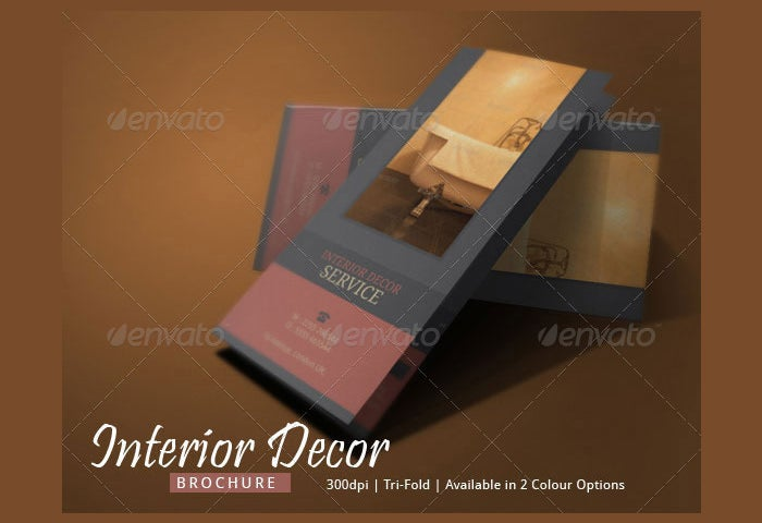 Interior Decor Brochure Design