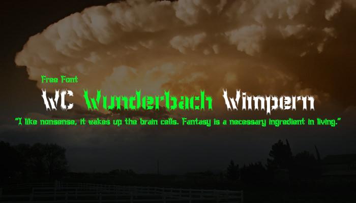 WC Wunderbach Wimpern