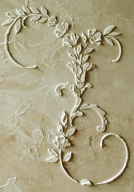 wall stencil furniture