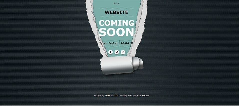 Coming Soon Designer Template Website Under Construction Free Demo