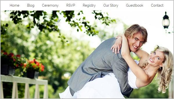 wedding blog templates theme