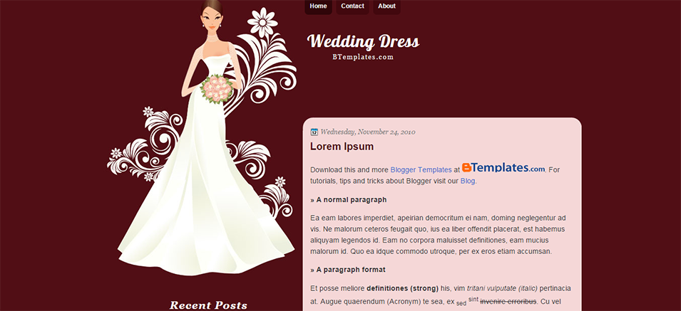 wedding blog website templates  u0026 themes