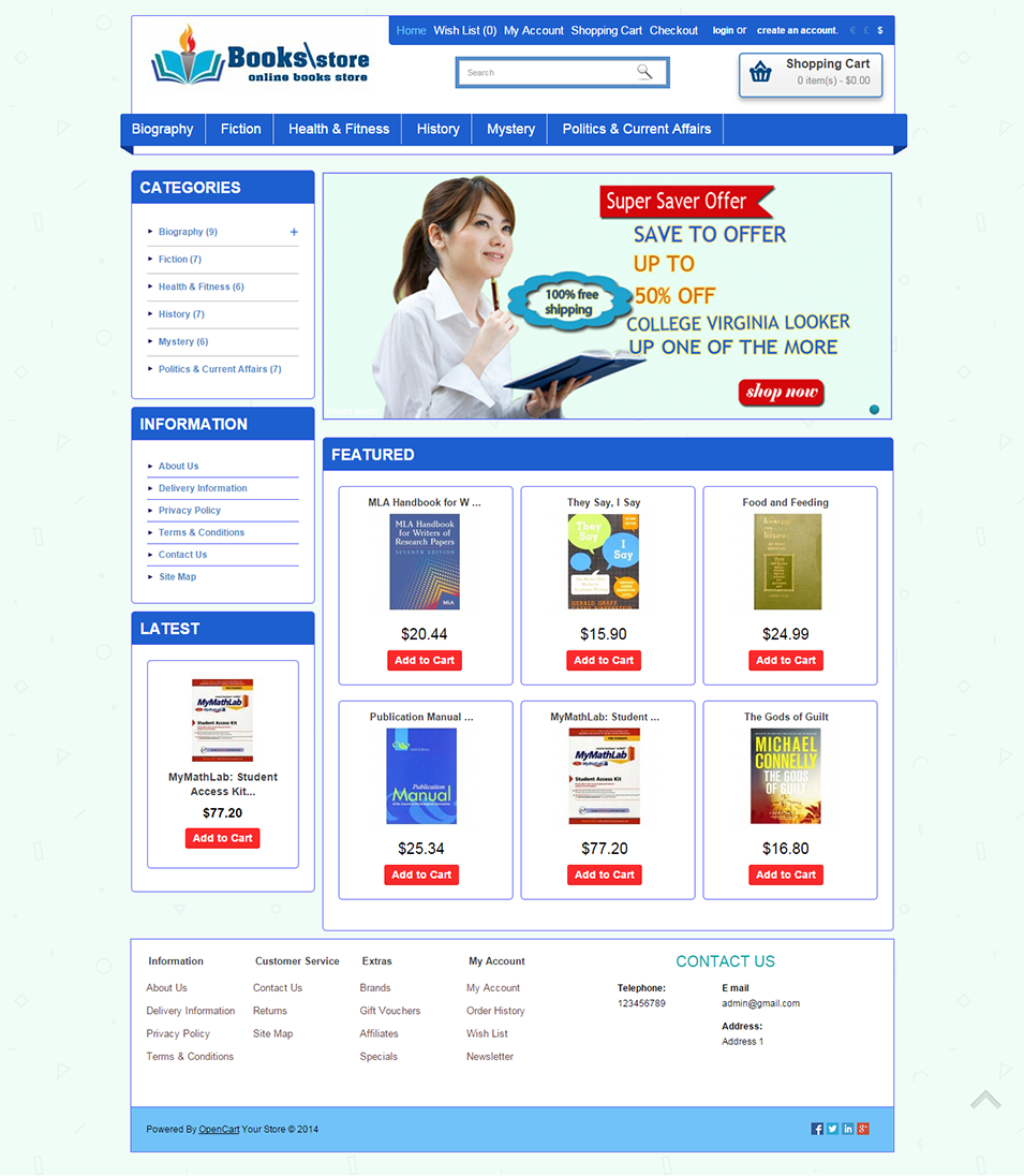 %name Top Result 60 Inspirational Opencart Bookstore Template Gallery 2017 Phe2