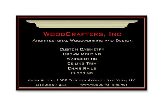 Best Business Cards For Architects Constructors Free - Architectural business