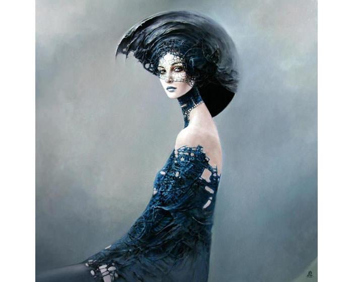 beautiful women paintings
