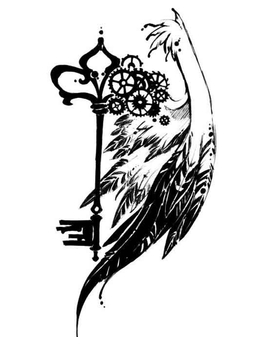 commission key tattoo