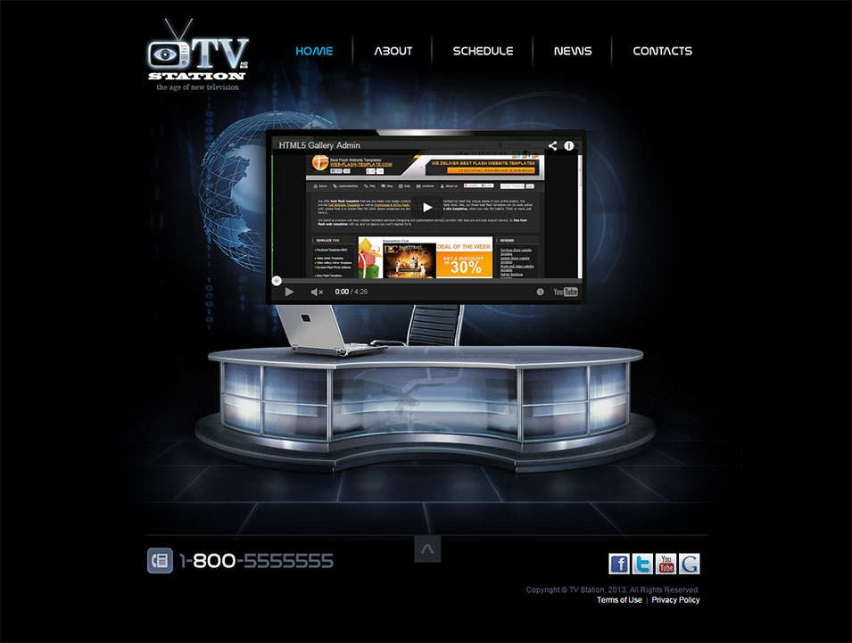 15  news channel html5 website themes  u0026 templates