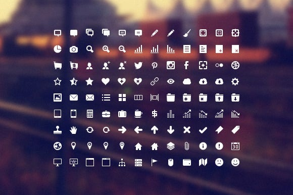developer icon set preview 16x16 f