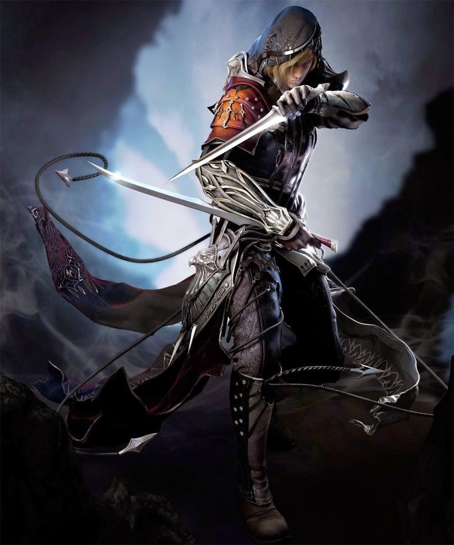 fantasy assassin art