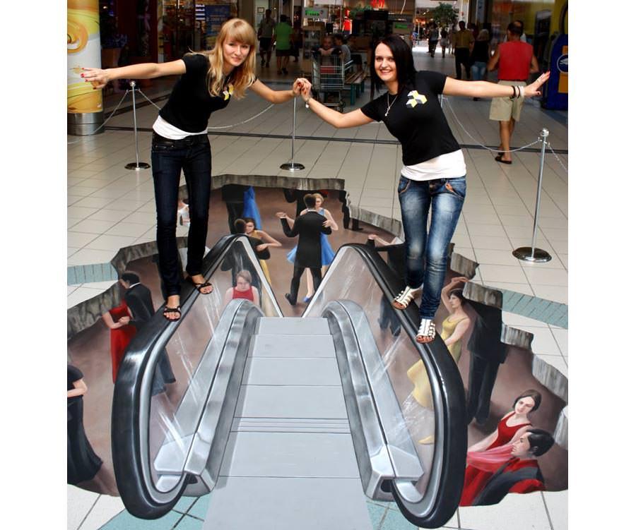 floor painting illusions