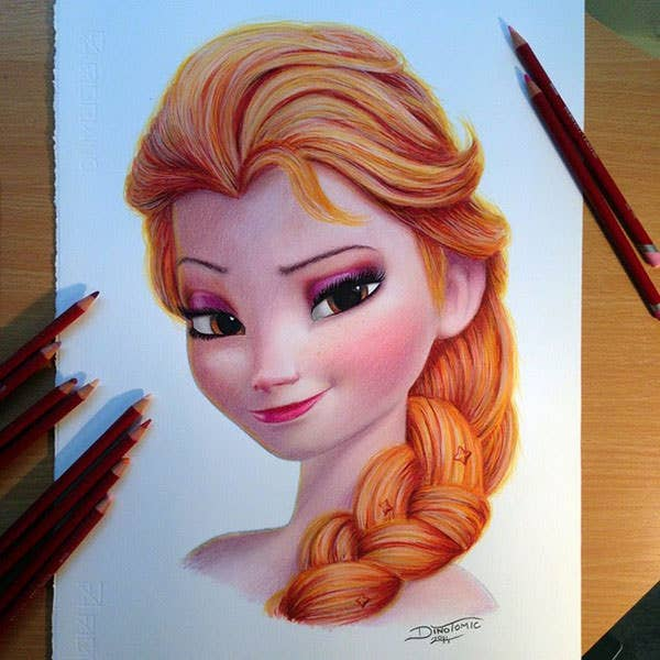 hyper realistic color pencil drawings copy