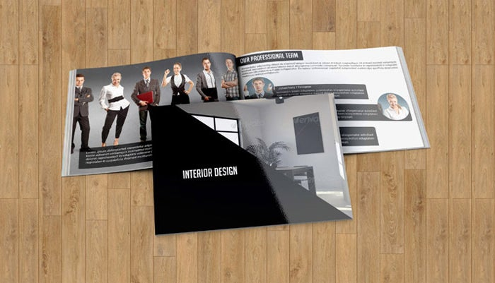 Interior Decoration Brochure Templates  Free Word Psd Pdf