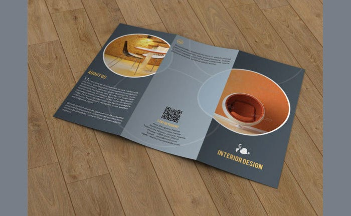 Brochure for Interior Designer