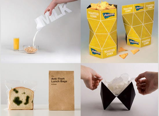 modern packaging concept