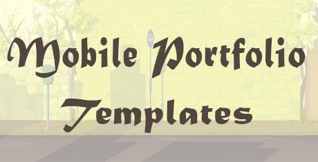 Jquery Mobile Portfolio  Template