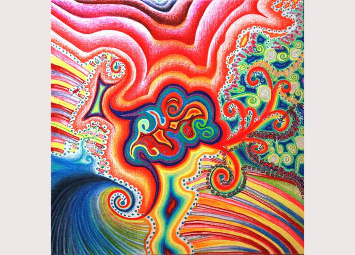 26  psychedelic painting designs
