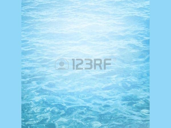 realistic vector background of sea water