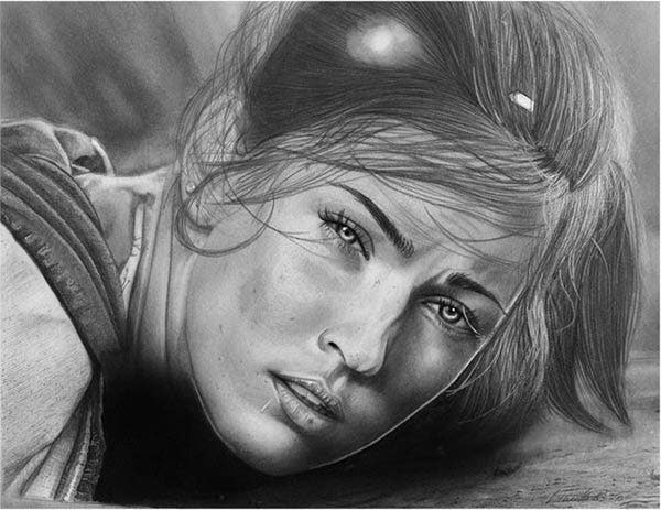 realistic pencil drawing techniques pdf