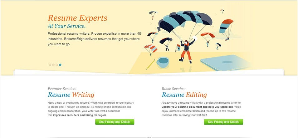Resumeedge  Resume Design Service