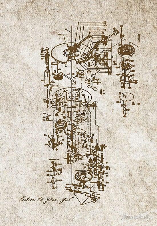 serigraph poster