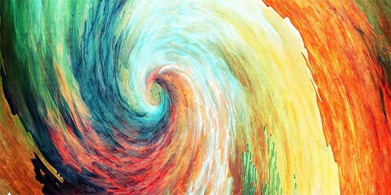 spiral abstrait