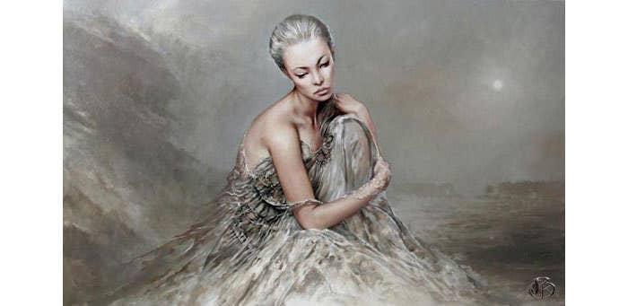 super beautiful women paintings by karol bak 12 copy