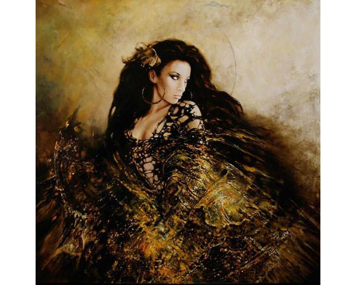 super beautiful women paintings by karol bak 14 copy