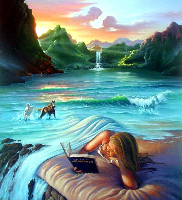 surreal painting by jim warren 2
