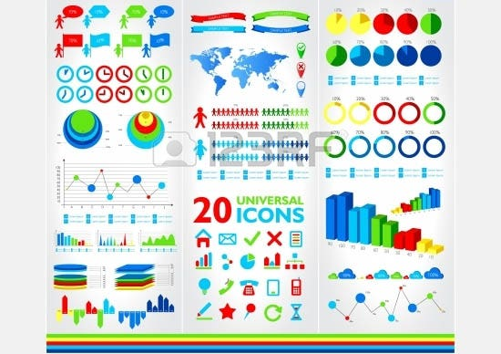 vector universal icons