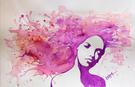 water colour drawing drawings free premium templates