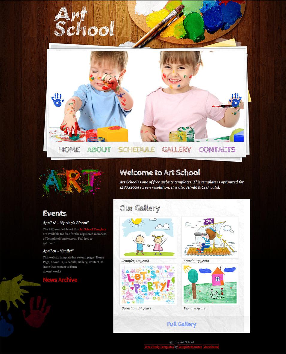 zartschool css3 theme