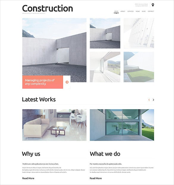 beautiful construction company wordpress theme