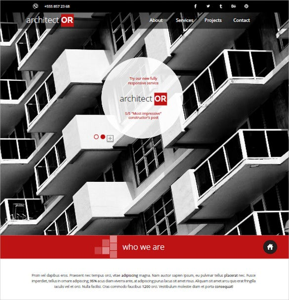 architector construction planning theme