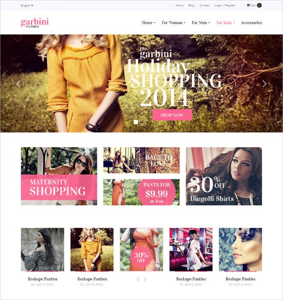 popular multipurpose html5 ecommerce template