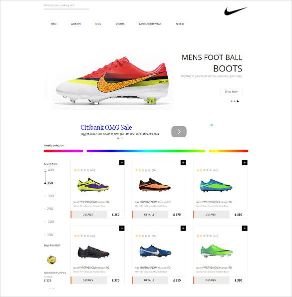 flat ecommerce responsive web template free download