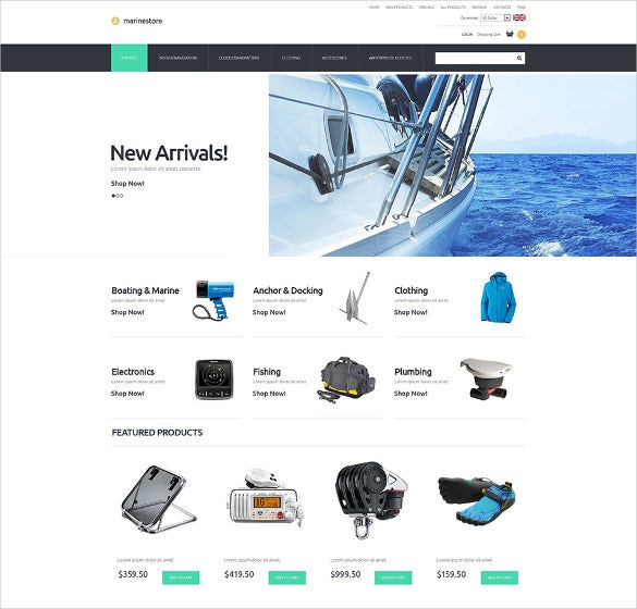 perfect fit ecommerce template for online shoppin