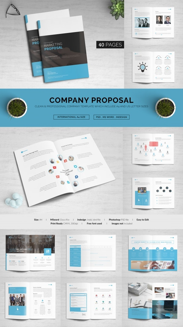 Corporate Business Marketing Proposal Template