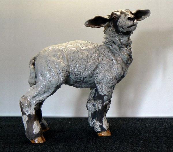 ceramic sculpture artworks ship