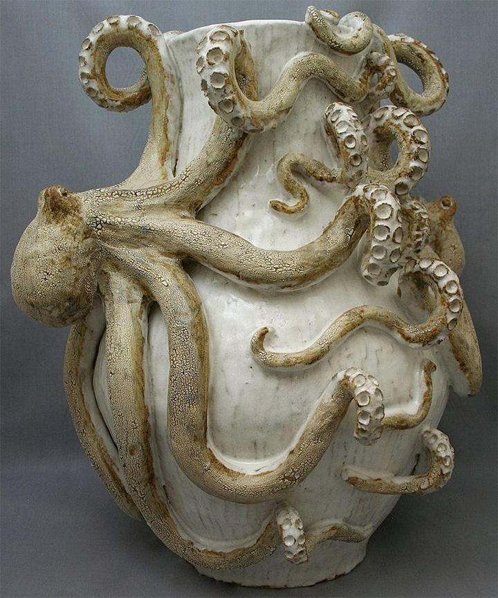 Ceramic Sculpture Design Octopus Download