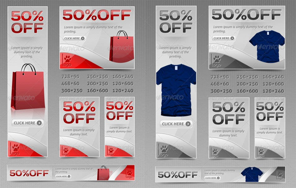 Modern Sales Banners
