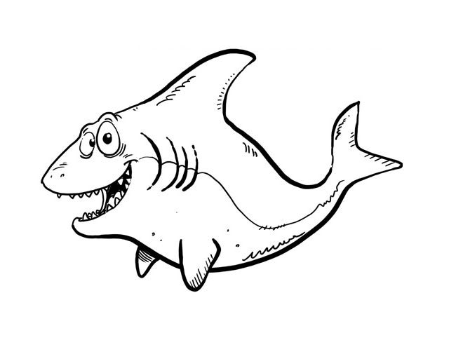 photo relating to Shark Stencil Printable called 55+ Shark Condition Templates, Crafts Colouring Internet pages Absolutely free