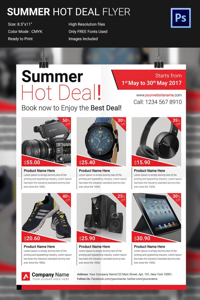 Summerhotdeal_Flyer