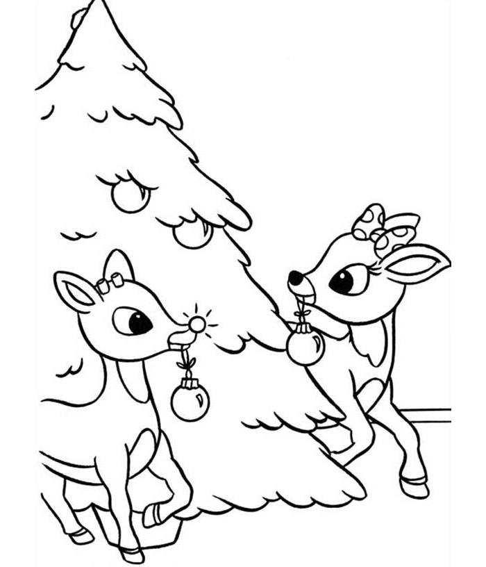 Reindeer Template Animal Templates Free Amp Premium