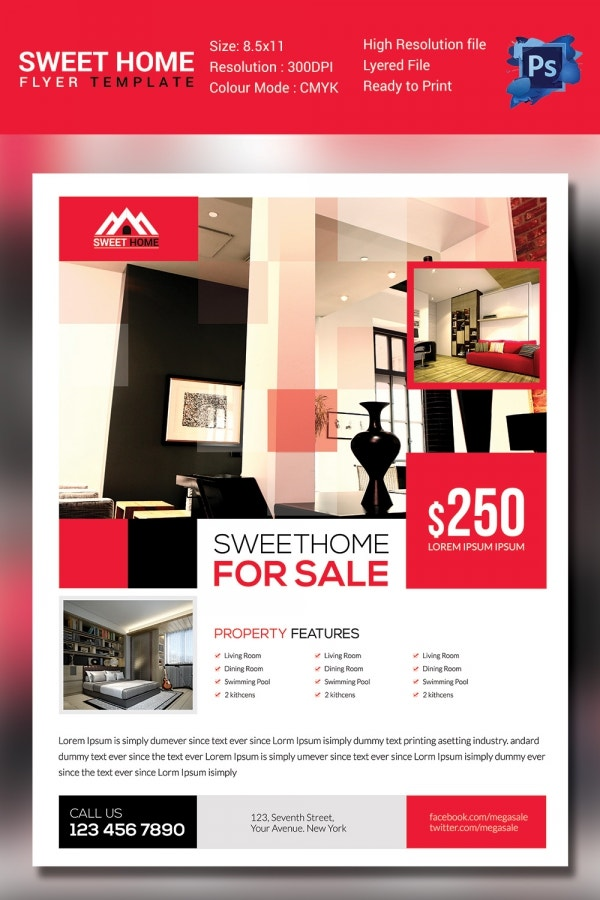 Flyer for Home Sales