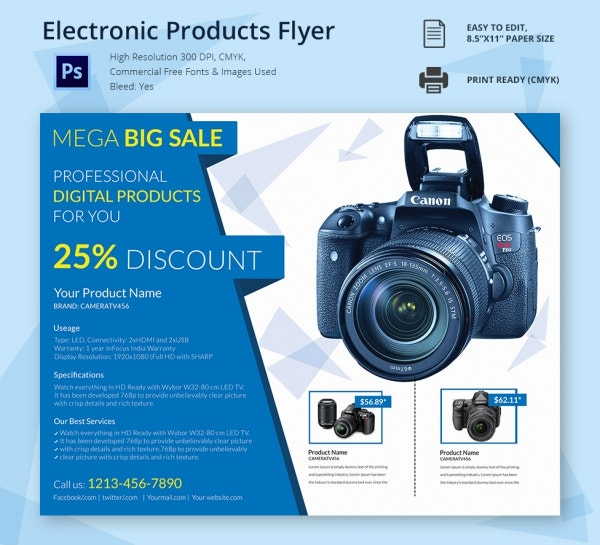 Electronic Products Flyer