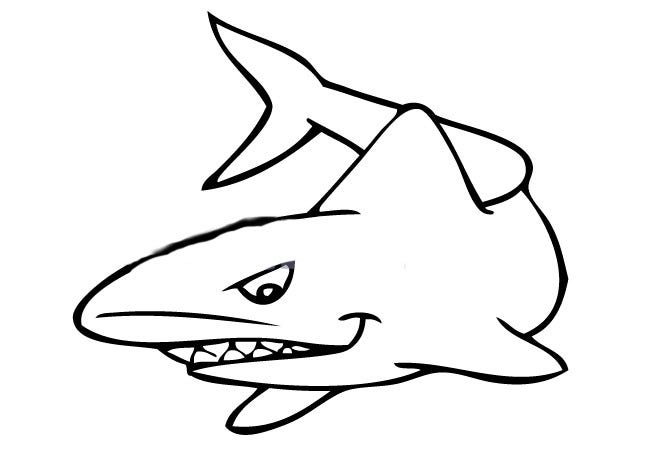 photo relating to Printable Shark Template known as 55+ Shark Form Templates, Crafts Colouring Webpages Totally free
