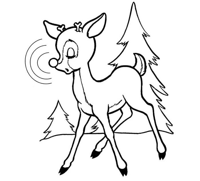 Reindeer Template Animal Templates Free Amp Premium