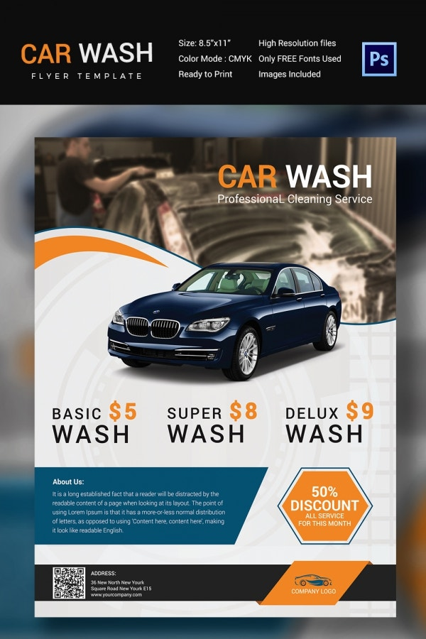 Promotion ideas for car wash