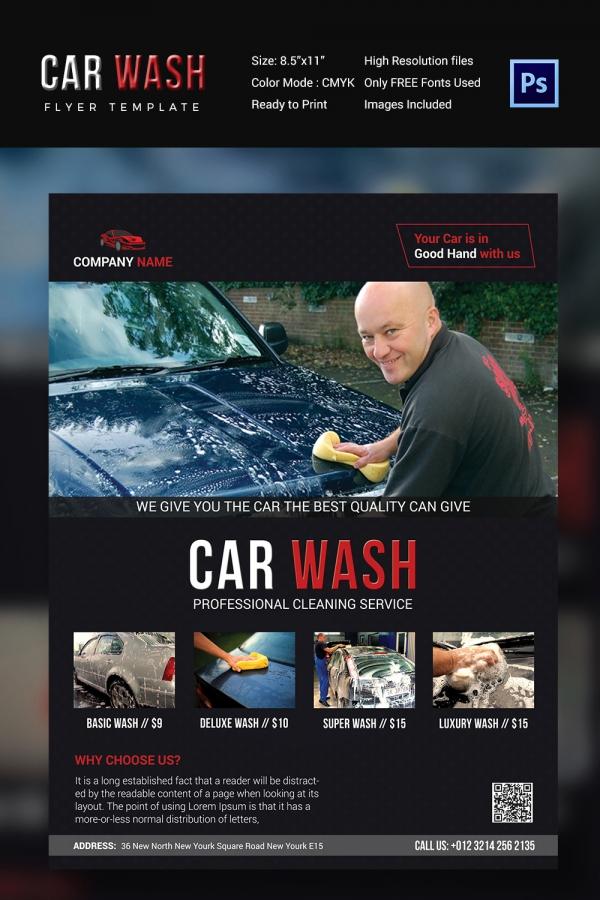 Car Wash Flyer Download