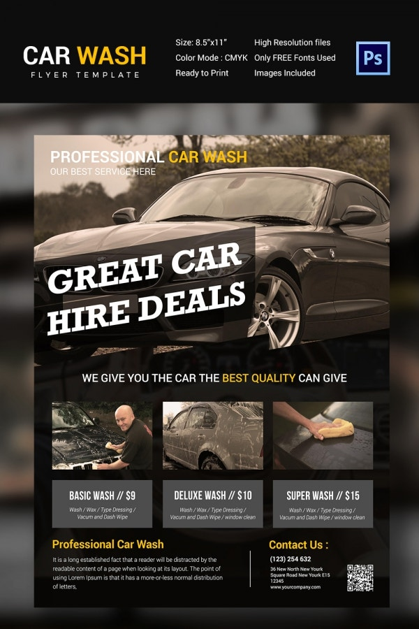 Mobile Car Wash Business Plan Template  SoftballconcentrateGq